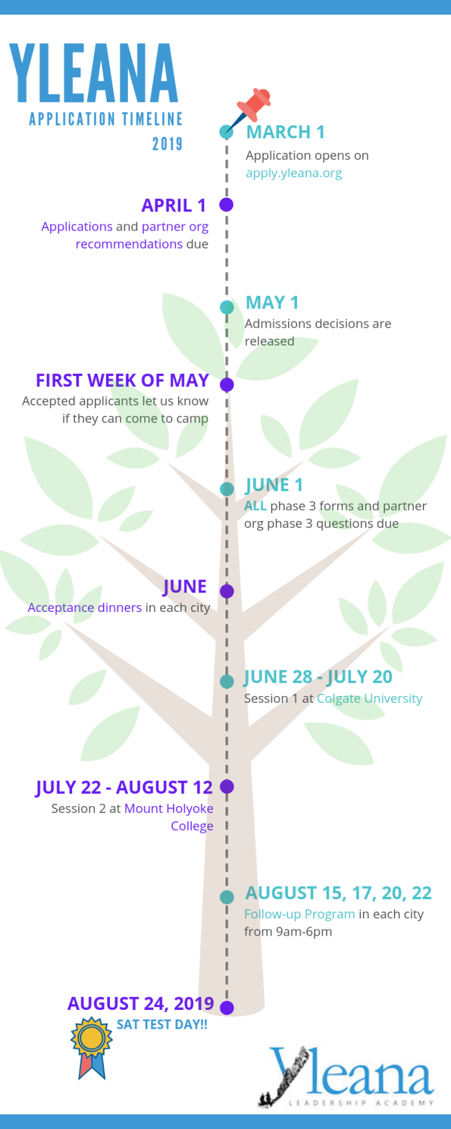 Yleana application timeline 2019.png