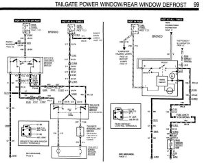 tailgate wiring  Ford Bronco Forum