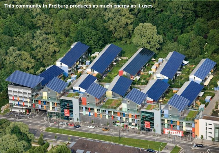 energy positive commnity Freiburg