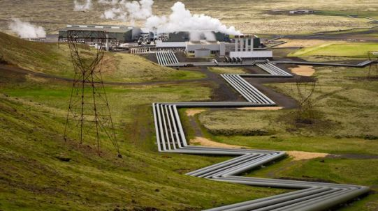 geothermal power - Iceland