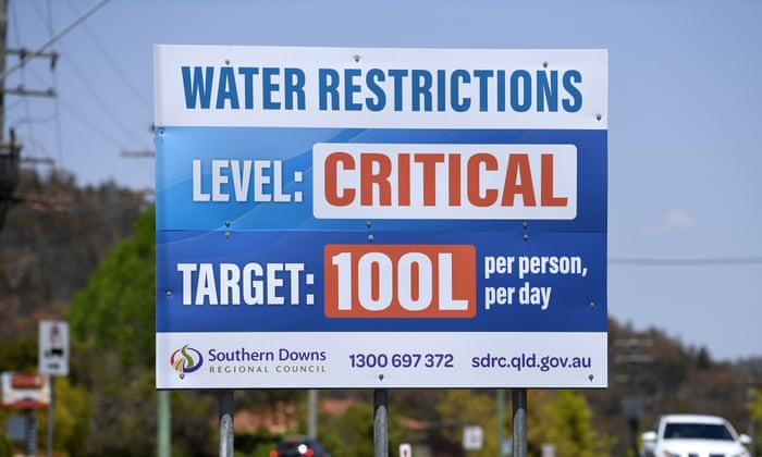 Water targets are widely publicised