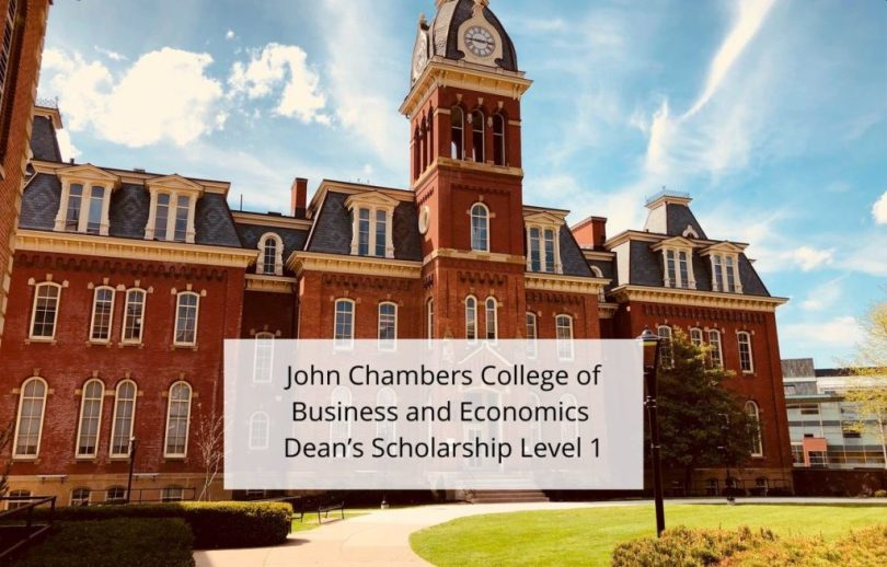 Image result for John Chambers College of Business and Economics Dean's Scholarship Level 1, USA