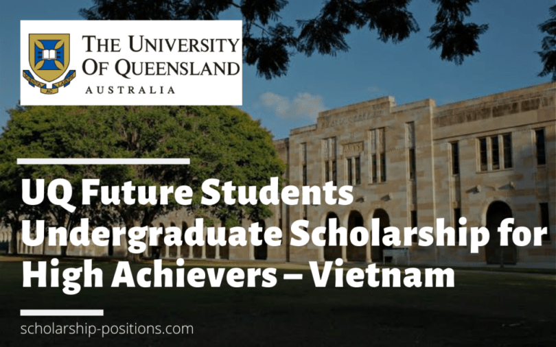 Image result for UQ Future Students Undergraduate funding for High Achievers from Vietnam