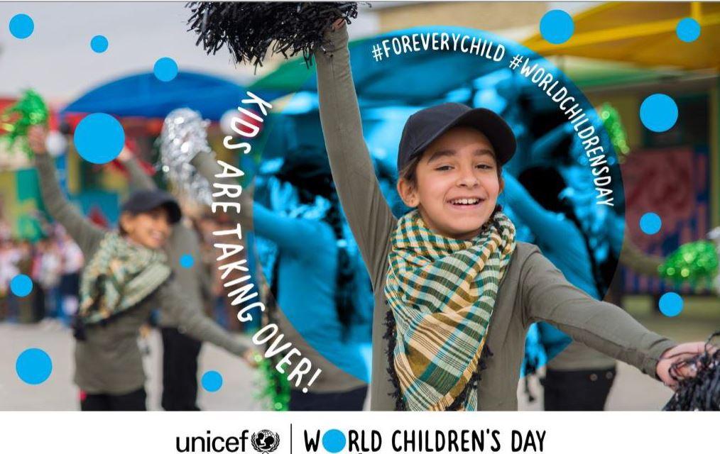 Εορταστική εκδήλωση για την 30η Επέτειο της Σύμβασης για τα Δικαιώματα του Παιδιού και της Παγκόσμιας Ημέρας Παιδιού (20 Νοεμβρίου*), διοργανώνει η αποστολή της UNICEF στην Ελλάδα το Σάββατο 30 Νοεμβρίου στην Πλατεία Χ.Α.Ν.Θ.