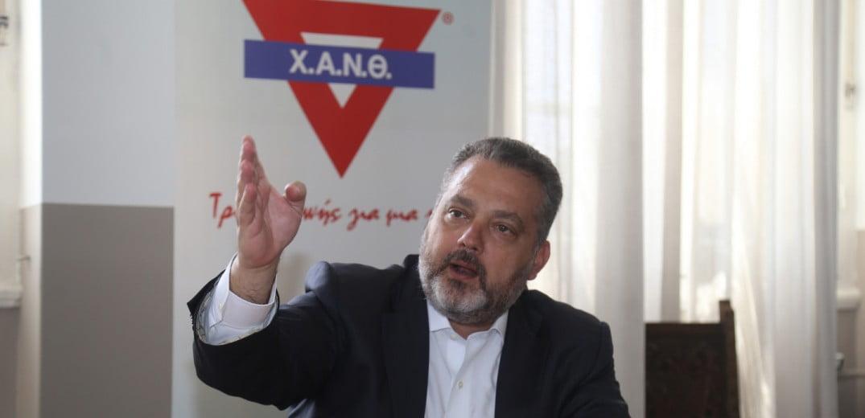 """Ιωάννης Σωσσίδης: """"Υπάρχουν δύο δρόμοι για να κρατήσουμε όρθια τη Χ.Α.Ν.Θ."""" – Συνέντευξη στην Εφημερίδα Μακεδονία"""