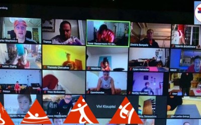 """Σε """"full time"""" ρυθμούς ο Αθλητισμός της ΧΑΝΘ: Συνεχίζονται αδιάκοπα οι διαδικτυακές προπονήσεις Τμημάτων"""
