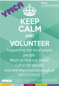 Volunteering poster internal 2015