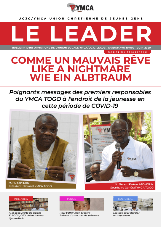 YMCA Togo - LeaderMag-Home1