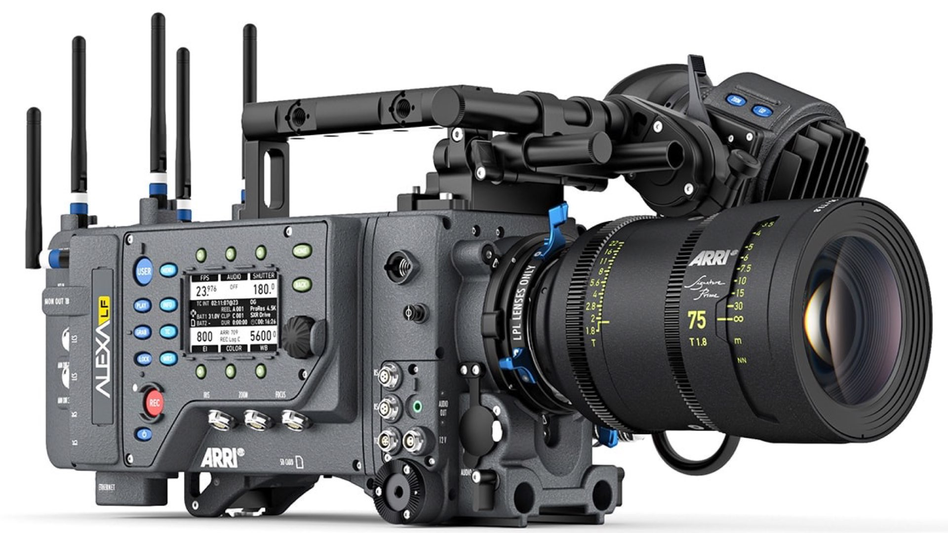 ARRI Tech Talk: ALEXA LF (Large-Format) Explained - Y M Cinema