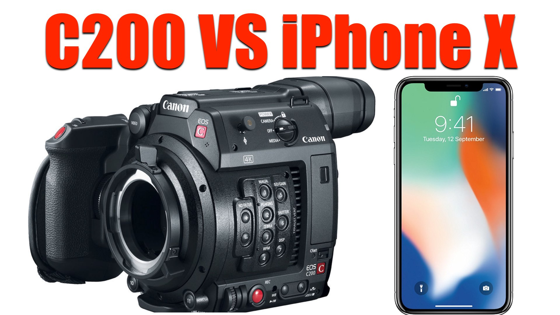 Canon C200 vs iPhone X: Another Surreal Comparison Between