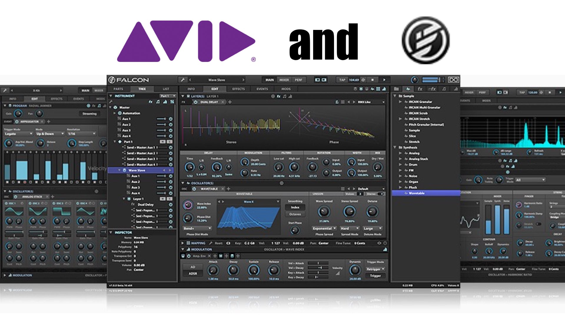 Avid Pro Tools now Includes UVI's Hybrid Virtual Instrument