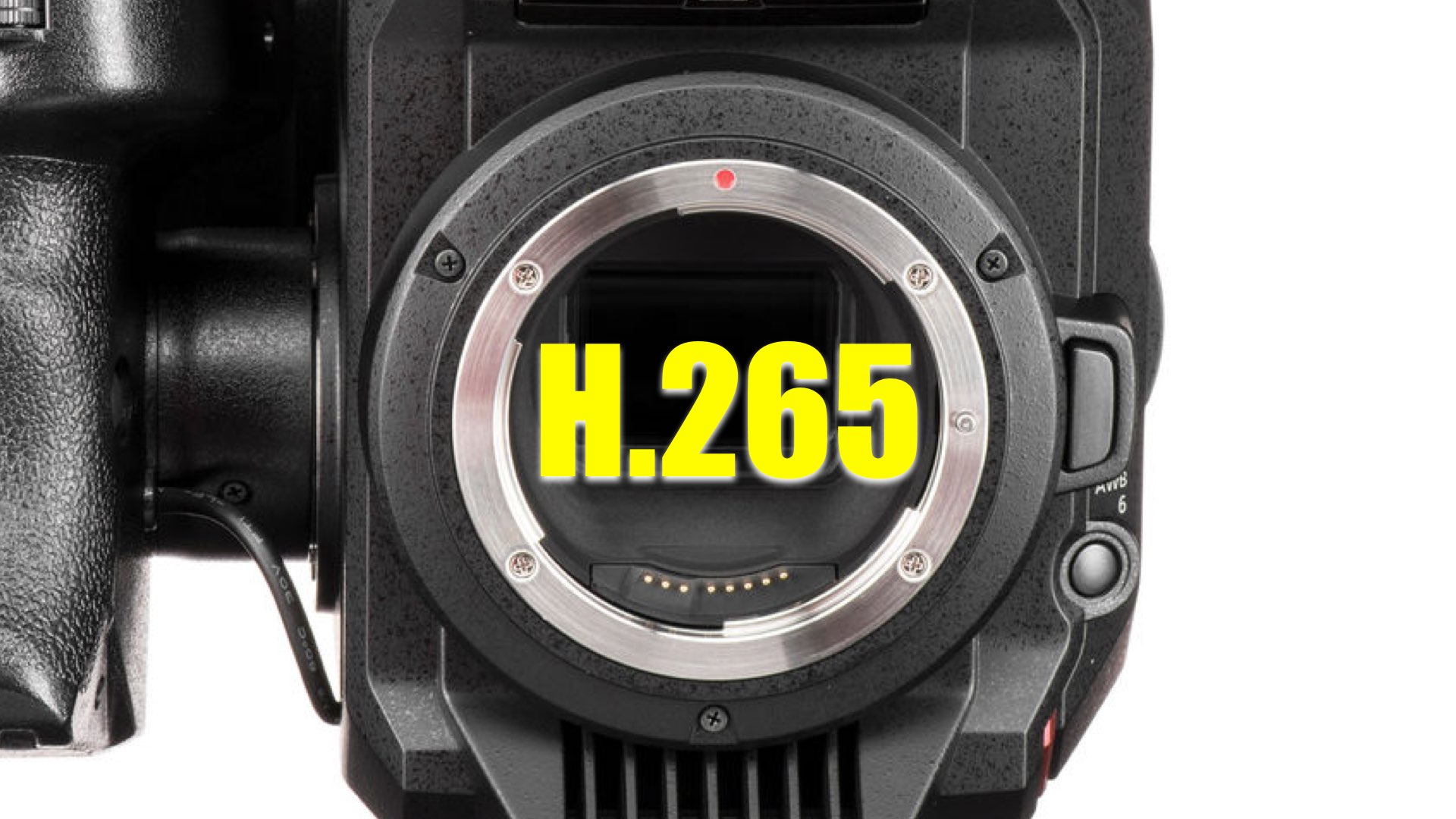 Panasonic EVA-1 new Firmware Update: H 265 Analysis and Advantages