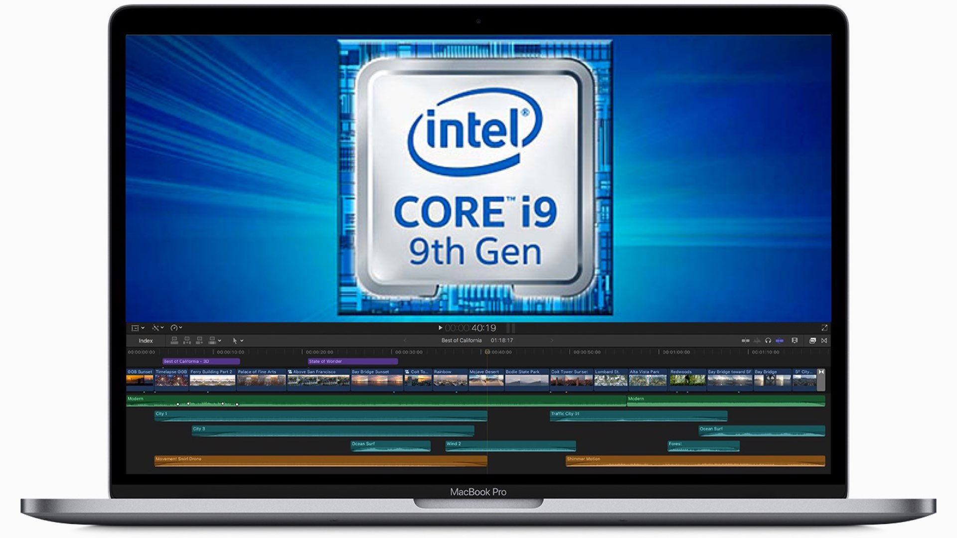 15 inch MacBook Pro 2019 comes with Intel Core i9