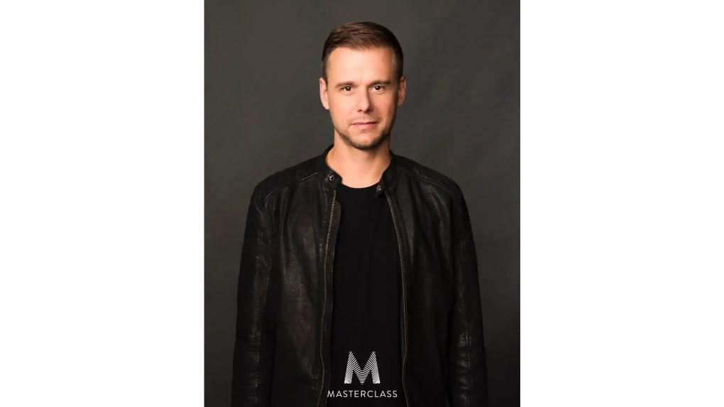 Armin van Buuren. Pic: MasterClass