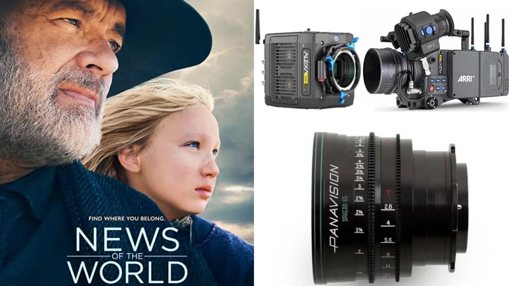 """News of the World,"" Dariusz Wolski: DP: Dariusz Wolski, ASC. Cameras: ARRI ALEXA LF, Mini LF. Lenses: Panavision Sphero 65"