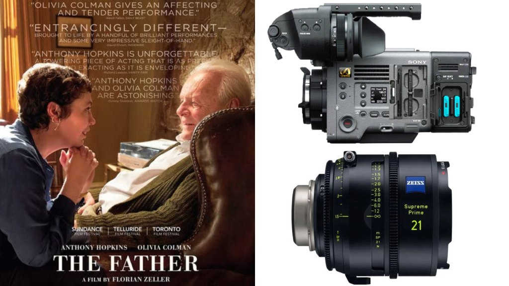 """""""The Father"""" (Sony Pictures Classics): DP Ben Smithard. Cameras: Sony VENICE. Lenses: Zeiss Supreme"""