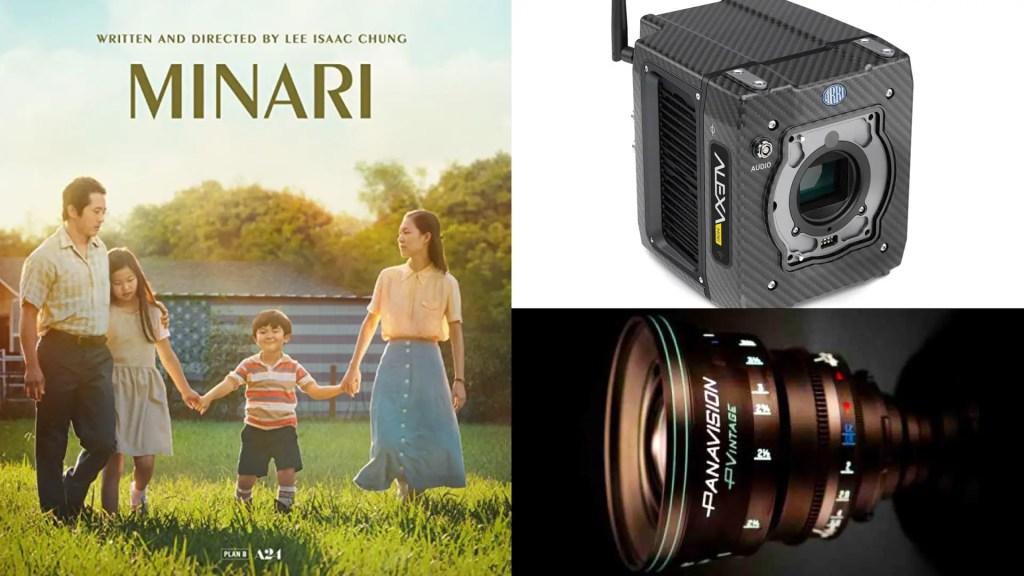 """Minari"" (A24): DP Lachlan Milne. Cameras: ARRI ALEXA Mini. Lenses: Panavision P Vintage"
