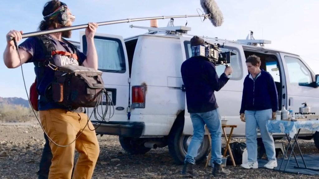 Nomadland: Behind the scenes. Picture: ARRI
