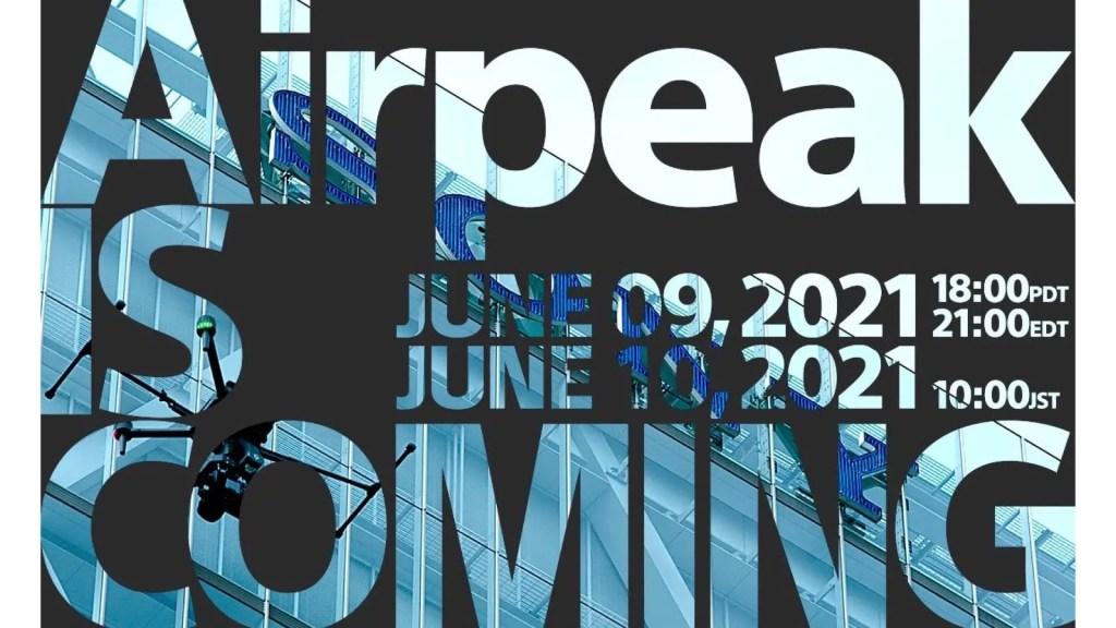 Airpeak is Coming on June 10