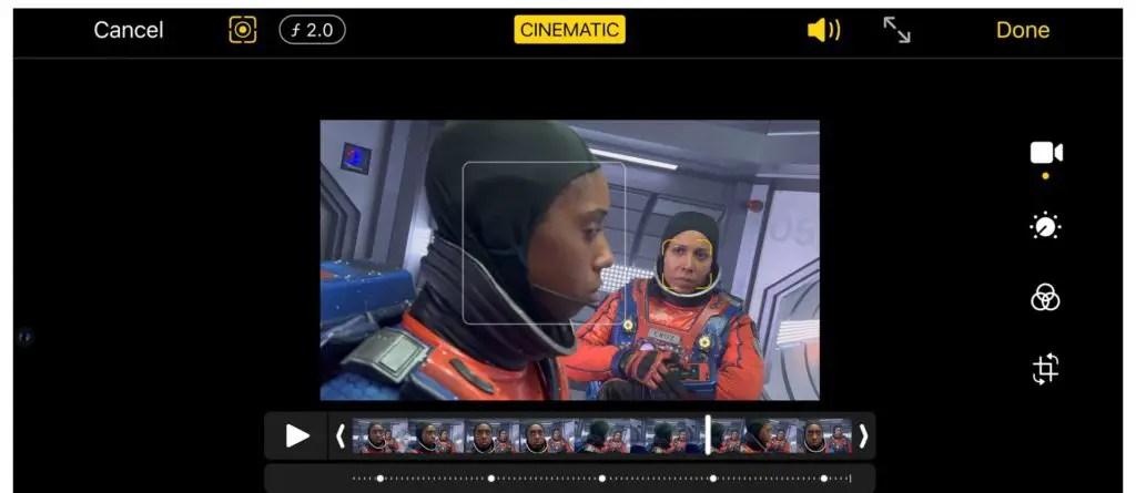 IPhone 13 Pro Cinematic Mode