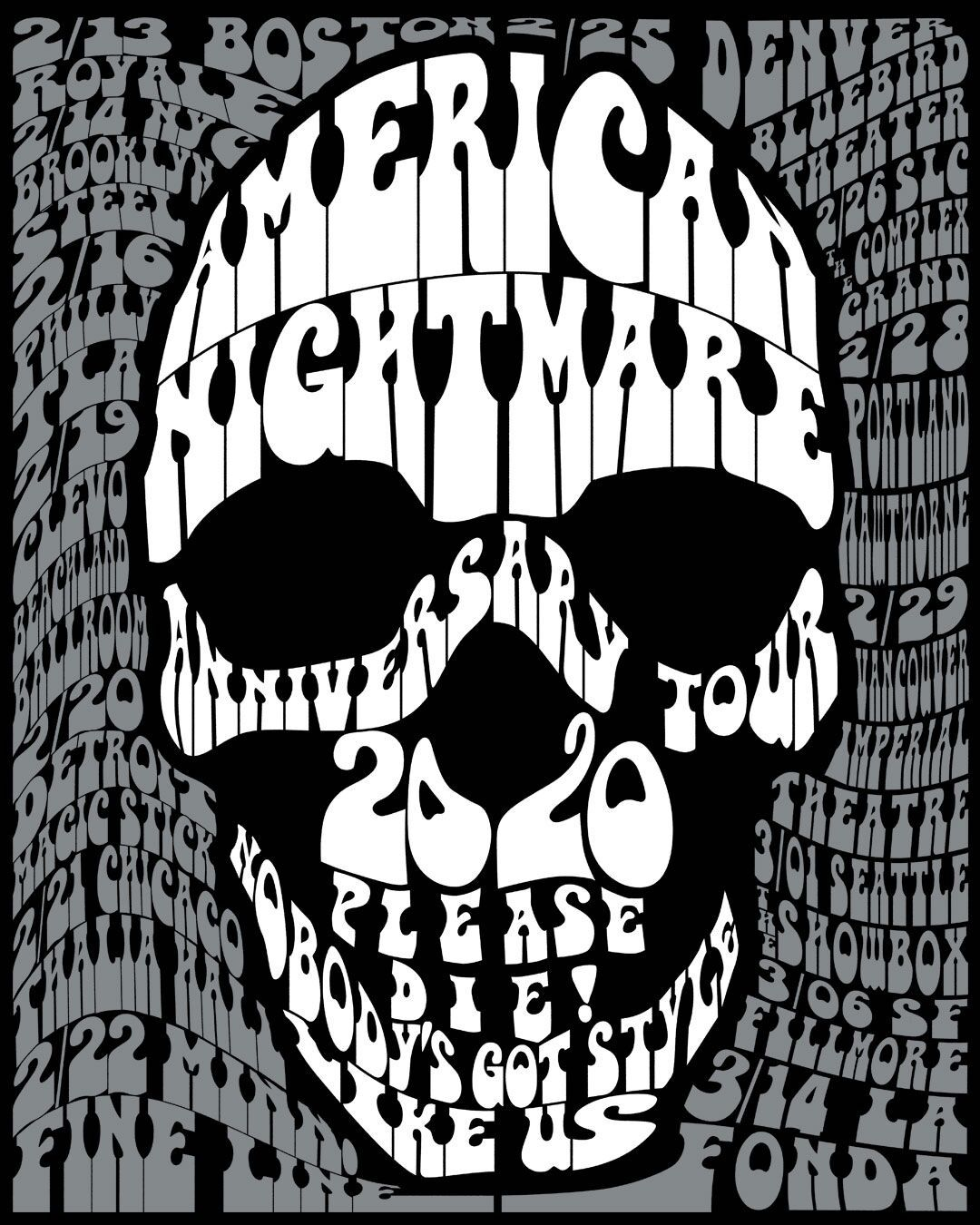 American Nightmare 20th anniversary poster