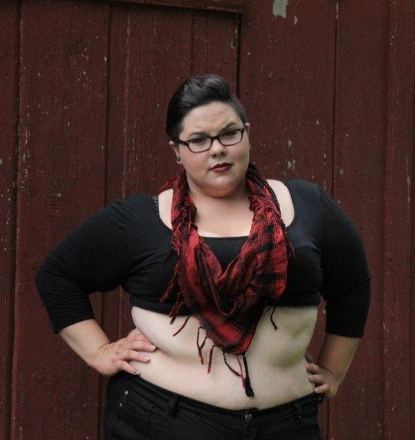 Новый тренд: Девушки показывают жирный живот « Сайт Юмора ...