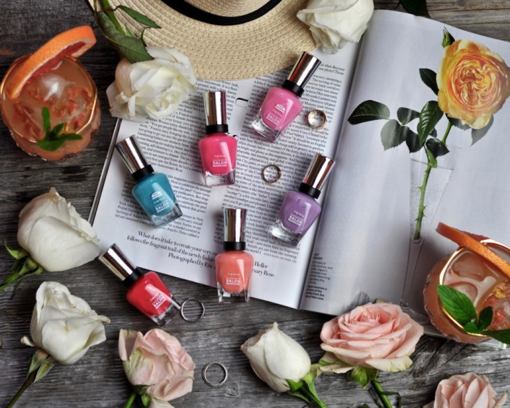 sally hansen summer nail polish