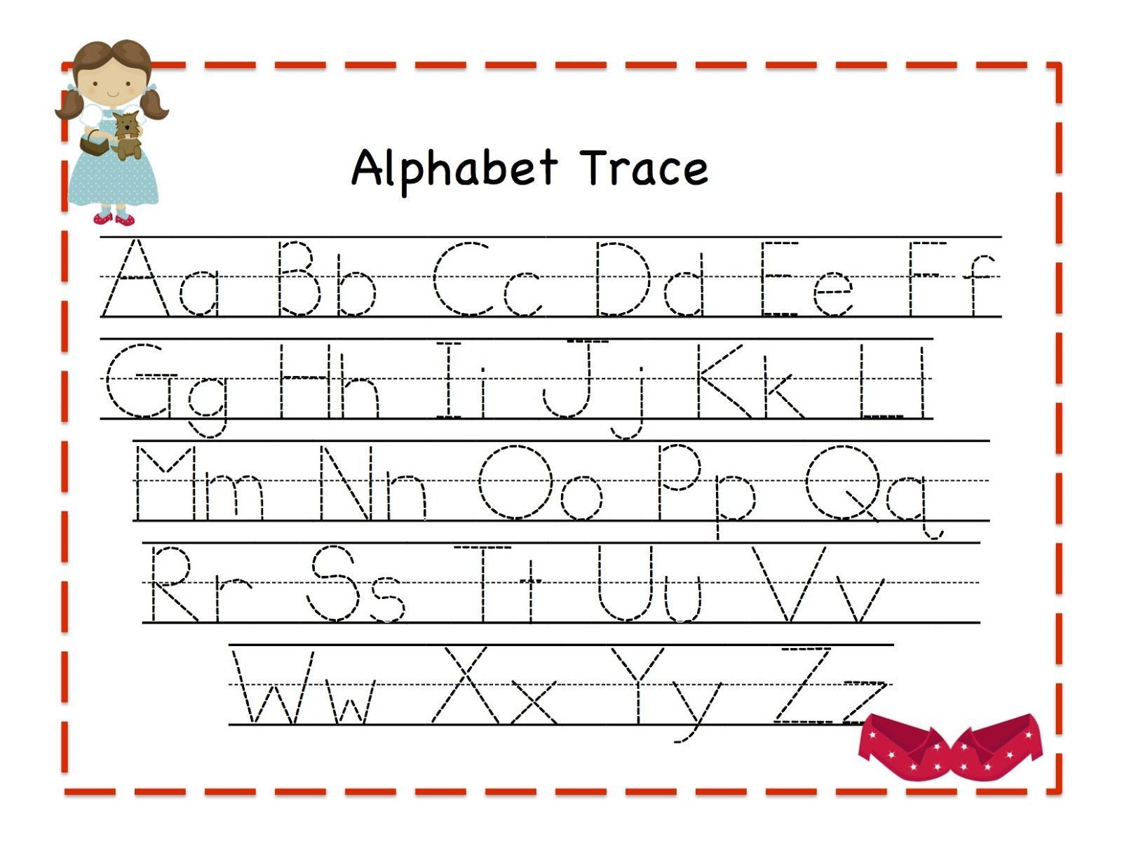 Abc Practice Printable Worksheets 1 Letter Worksheets