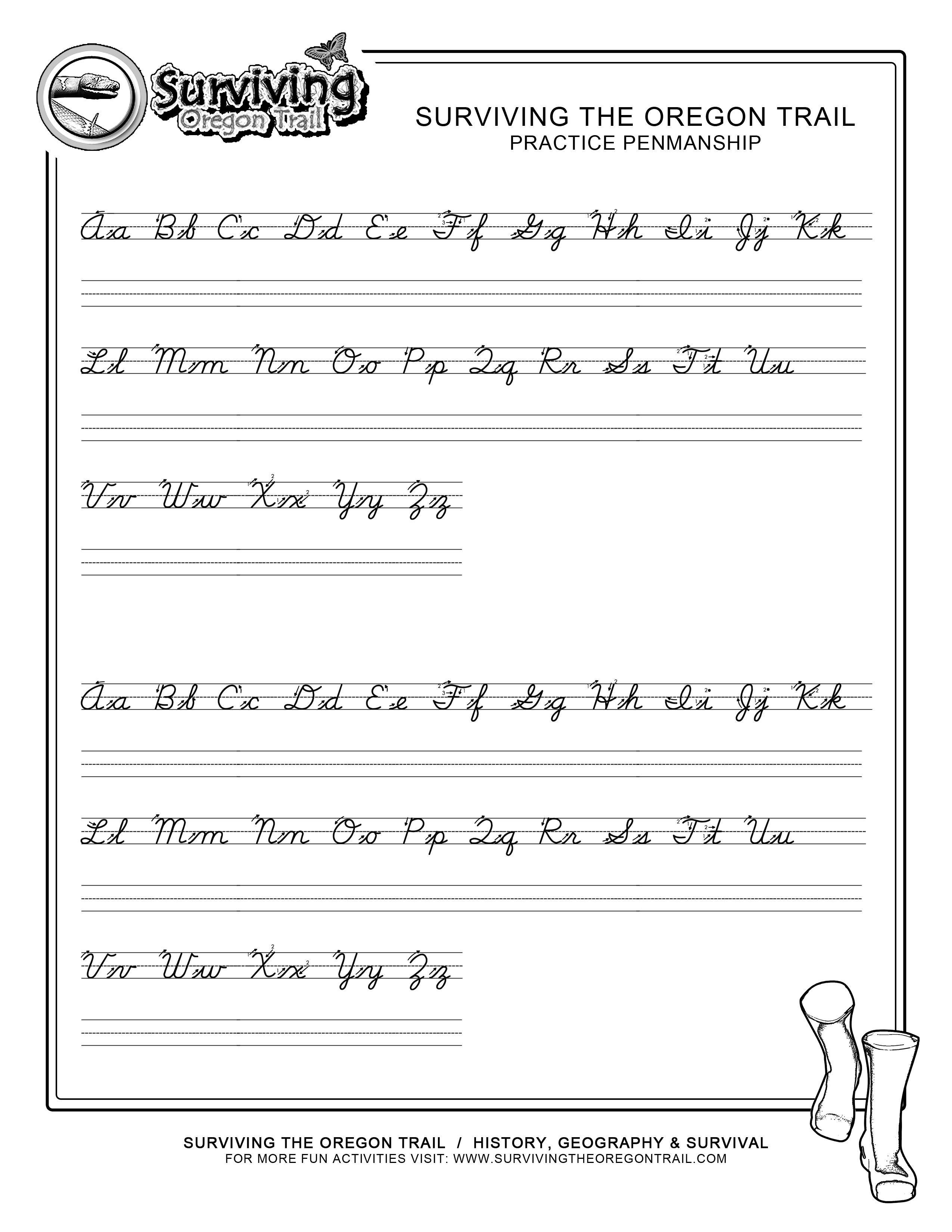 Printing Alphabet Practice Worksheets Letter Worksheets