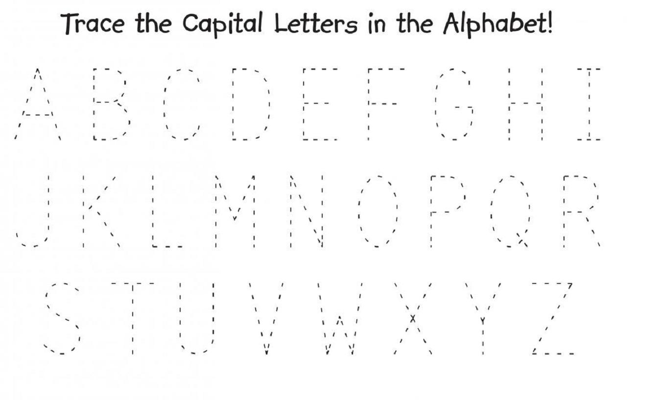 Alphabet Big And Small Letters Worksheet 3 Letter Worksheets
