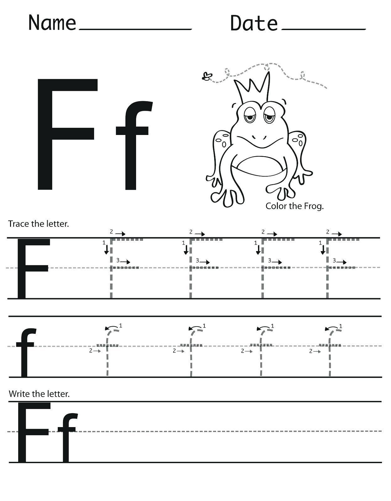 Letter Ii Worksheets For Kindergarten Letter Worksheets