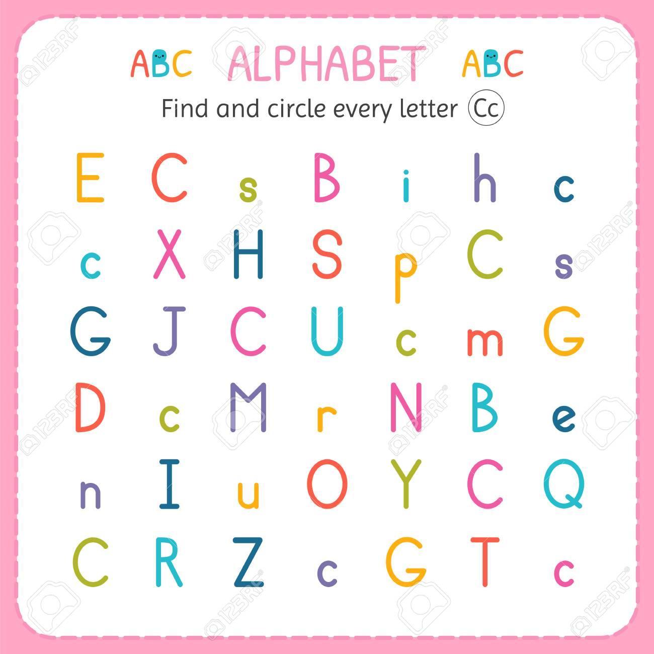 Letters Worksheet For Kindergarten Letter Worksheets