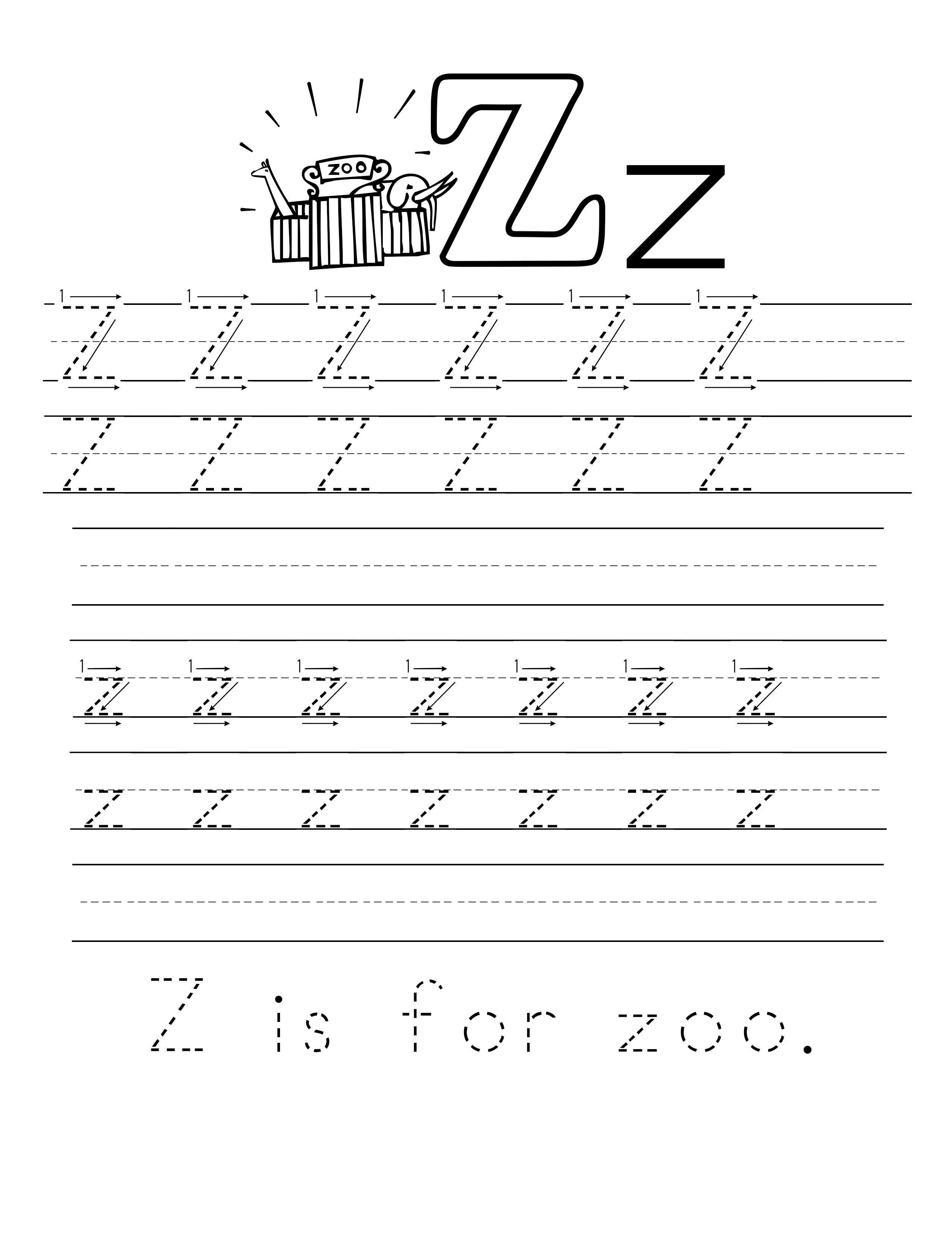 A To Z Missing Letters Worksheets Letter Worksheets