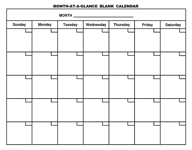 Free Printable Blank Calendar Worksheet 10 Letter Worksheets