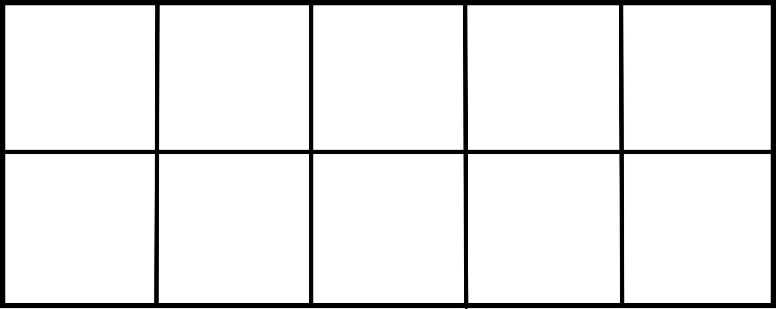 Free Printable Blank Ten Frame Worksheets 5 Letter