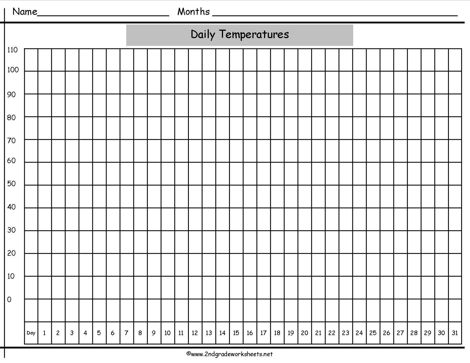 Printable Blank Line Graph Worksheets 8 Letter Worksheets