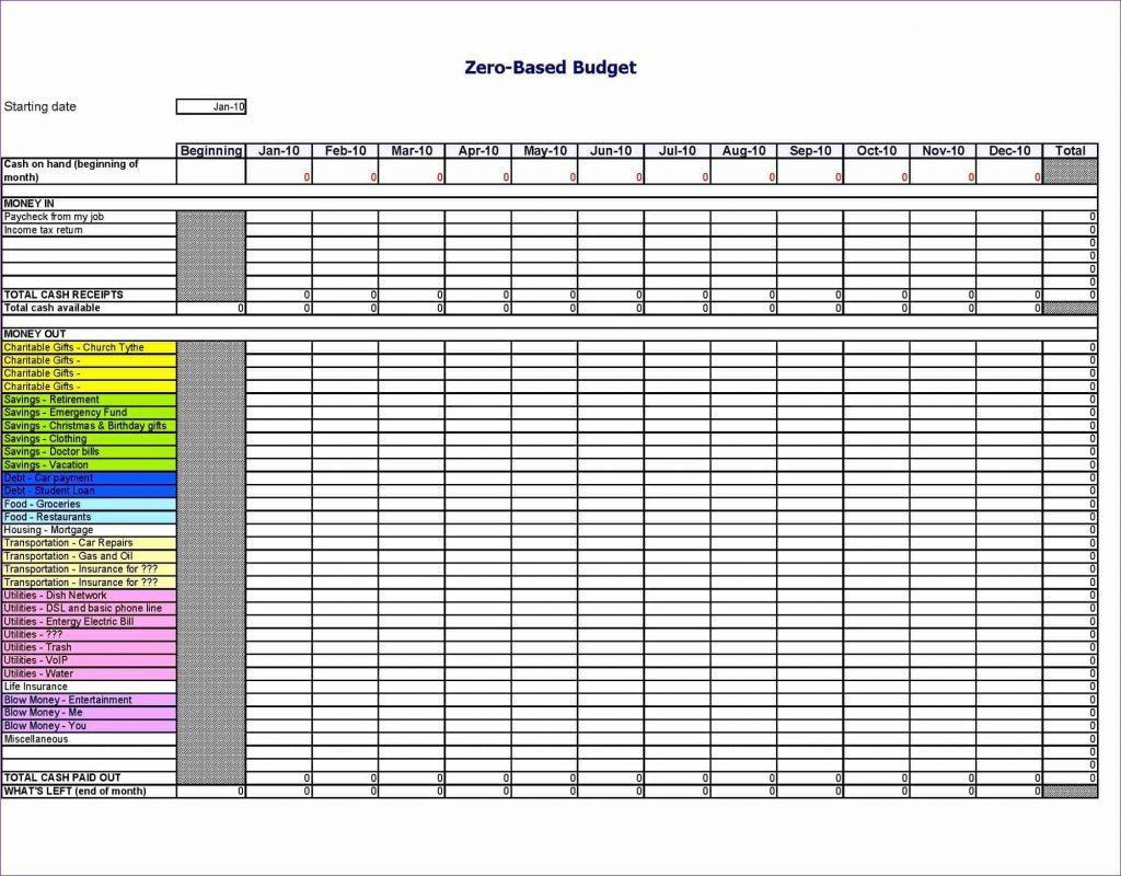 Printable Christian Budget Worksheet 1 Letter Worksheets