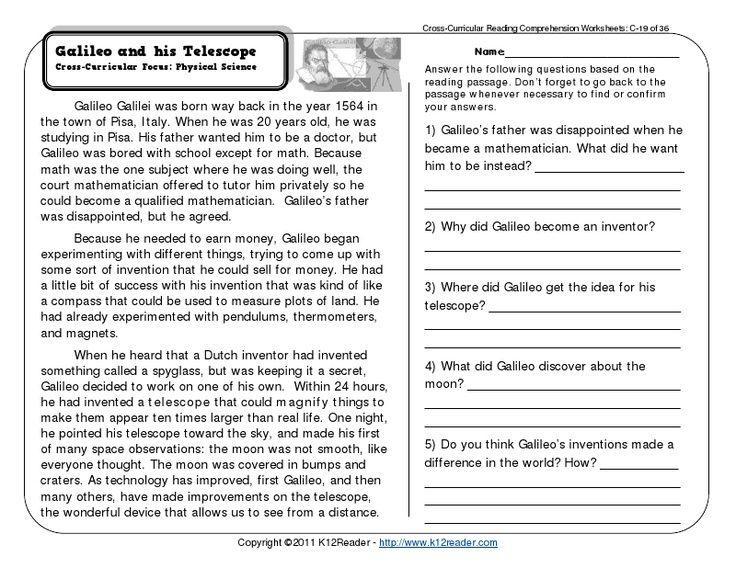 Printable Comprehension Worksheets For Grade 3 – Letter Worksheets