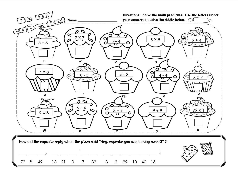 Printable Math Worksheets For Grade 1 Australia Letter