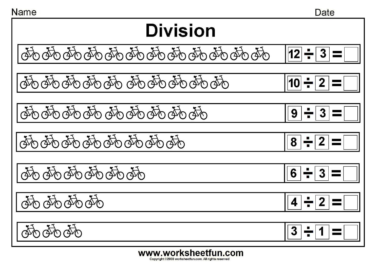 Printable Math Worksheets Long Division Letter Worksheets