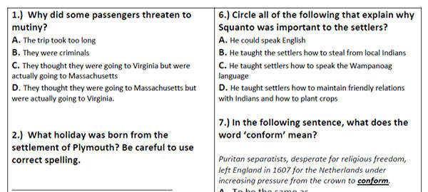 Free Printable Reading Comprehension Worksheets Grade 3 – Letter Worksheets