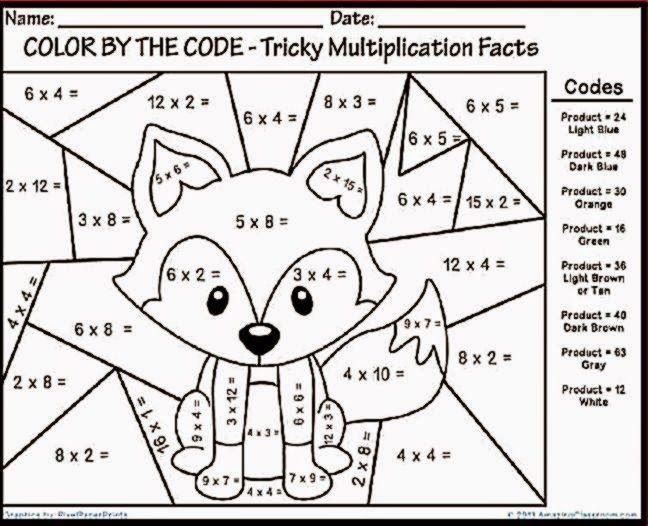Printable Coloring Math Worksheets – Letter Worksheets