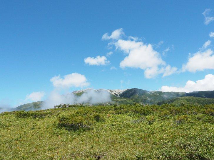 太郎平からの景色
