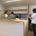 「参道沿いに建つ家」オープンハウス1