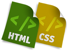 html and css programming language picture