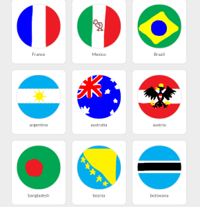 National Flags Agar.io skins
