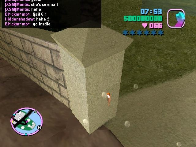 Prawn Island - Inside The Wall - Vice City Multiplayer