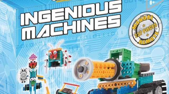 Think Gizmos construction kit build your own robot