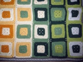 Granny square deken