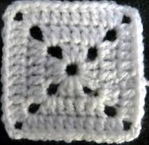square voor stemvork deken